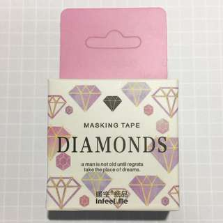 Diamonds Washi Tape - WT05