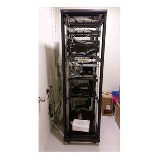 40U Server Rack (60 cm x 95 cm x 205 cm)