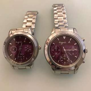 Agnes b. pair watch