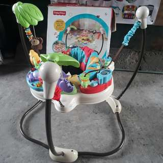Fisher price baby zoo jumperoo