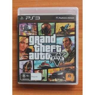 Kaset BD PS3 Original Game Grand Theft Auto V GTA V GTA 5
