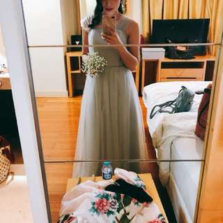 Long dress for weddings
