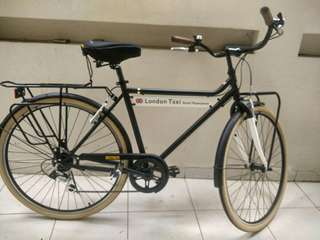 London Taxi Bike CRB M 700C - Black