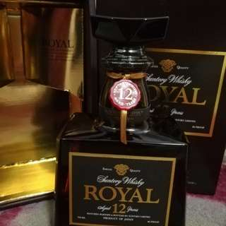 Royal whisky12年 70cl