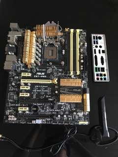ASUS z87-pro USED For Haswell-E CPU's FULLY OVERCLOCKABLE UEFI UPDATED