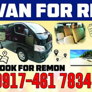 Van for Rent  Hire  Rental Marikina Pasig Cainta Quezon City Manila