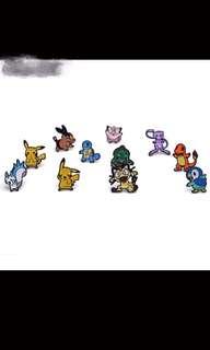 PO pokemon earrings set