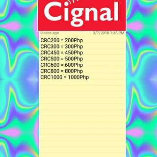 Cignal prepaid e-pins