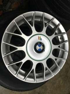 "BBS 15"" rims for BMW"