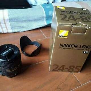 NIKKOR LENS (AF-S NIKKOR 24-85mm f/3.5-4.5G ED VR)
