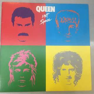 Queen ‎– Hot Space, Japan Press Vinyl LP,  Elektra ‎– P-11204, no OBI, 1982