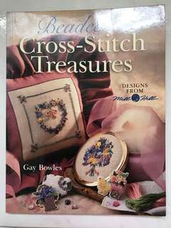 Beaded cross-stitch treasures