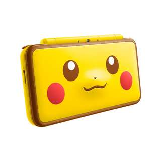 (PO) Pikachu New 2DSXL + 1 Free 3DS game
