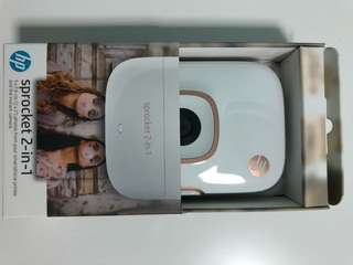 (BNIB) HP Sprocket 2 in 1 instant camera and photo printer