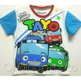 Tayo White Size 1 2 3 4 5 6 7 8 9 10 Thn