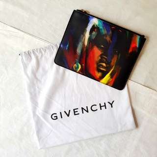 Givenchy African Brushstroke Clutch Small Original