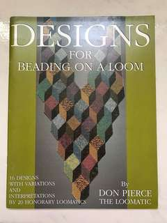 Designs for beading on a loom