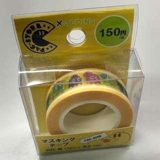 食鬼 膠紙 紙膠帶 Pac-Man masking tape