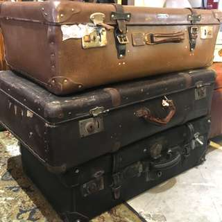Rental vintage oversea luggage suitcase