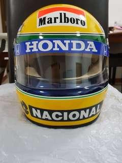 Ayrton Senna F1 Helmet Full Size