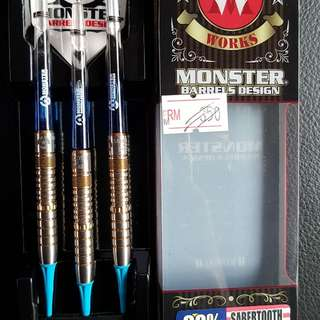 Monster soft tip dart #90% tungsten #18g