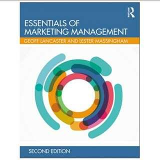 Essentials of Marketing Management 2nd Edition eBook