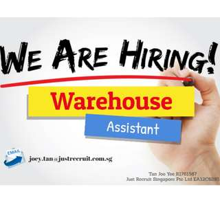 Warehouse Assistant x 10 (URGENT)