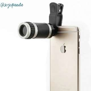 [PO] 8×18 Monocular Clip On Telescope