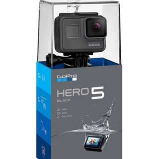 GoPro Hero 5 Black Edition 4K Ultra HD Waterproof Digital Video sports Action Camera (brand new with Local Warranty)