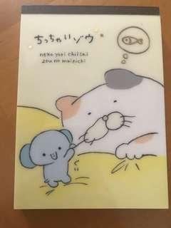 日本製記事簿 memo pad
