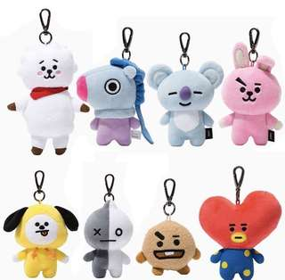 BTS Preorder BT21 Bag Charm (unofficial)