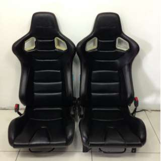 Honda Civic Car Leather Seat Front Only (CS358)