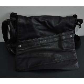 Calvin Klein Men's Shoulder Messenger Black Bag