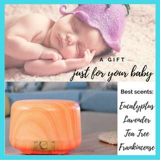 FREE DELIVERY! ULTRASONIC HUMIDIFIERS/AROMA DIFFUSERS/ESSENTIAL OILS/WATER SOLUBLE ESSENTIAL OILS/ SAFE FOR BABIES!