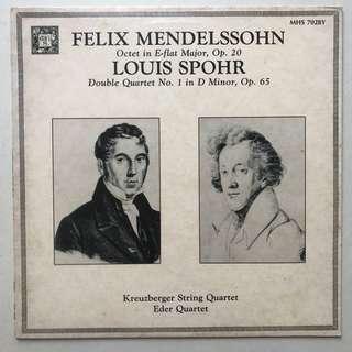 Mendelssohn Octet & Spohr Double Quartet MHS 7028Y