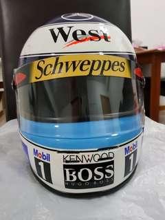 Mika Hakkinen F1 Helmet Full Size