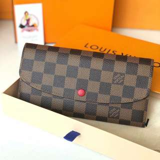 Brandnew Louis Vuitton Emilie Wallet