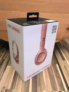(95%新) 原裝行貨 Beats solo 3 wireless 粉紅色