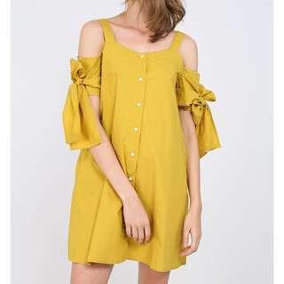 RWB Roo Dress in Mustard