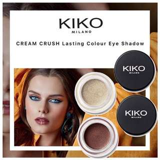 KIKO MILANO Cream Crush Lasting Colour Eye Shadow