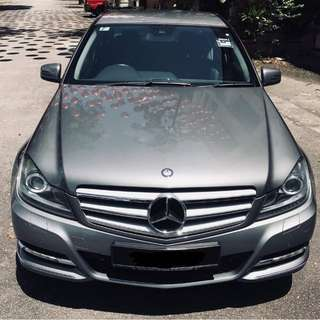 CONTINUE LOAN MERC C250 AMG