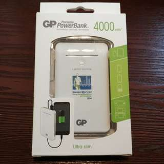 New Ultra Slim GP Power Bank 4000mAh