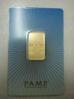 10gram Pamp Mecca goldbar