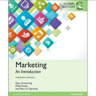 Marketing: An Introduction, 13th Global Edition eBook