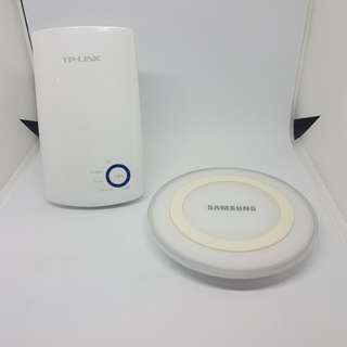 Wifi Extender and wireless charger