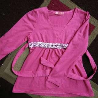 dark pink tops