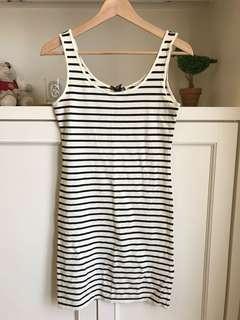 Stripes Singlet Dress