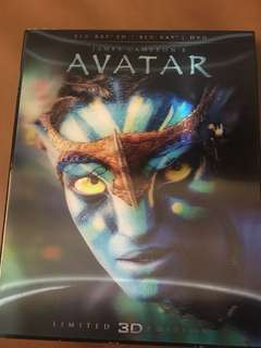 Avatar, limited 3D edition