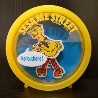 1999 sesame street plastic coin bank