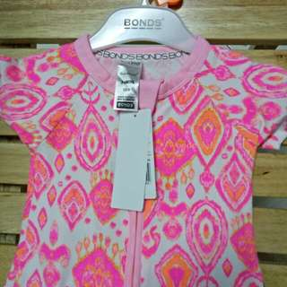 Bonds wondersuit short sleve